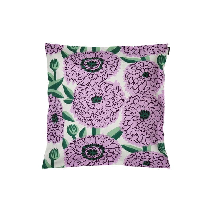 Pieni Primavera Kissenbezug 45 x 45 cm, weiß / lila / grün von Marimekko