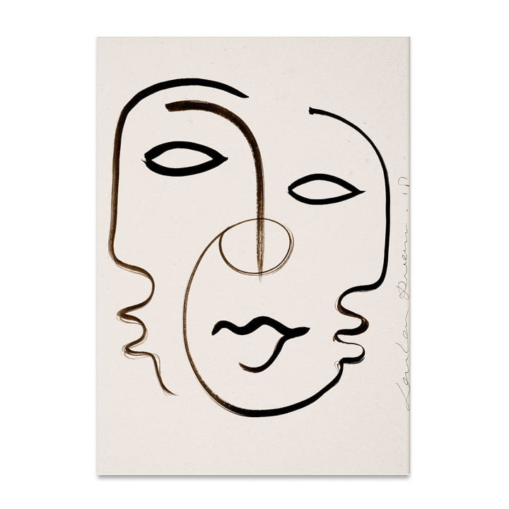 We are One 50 x 70 cm von Paper Collective
