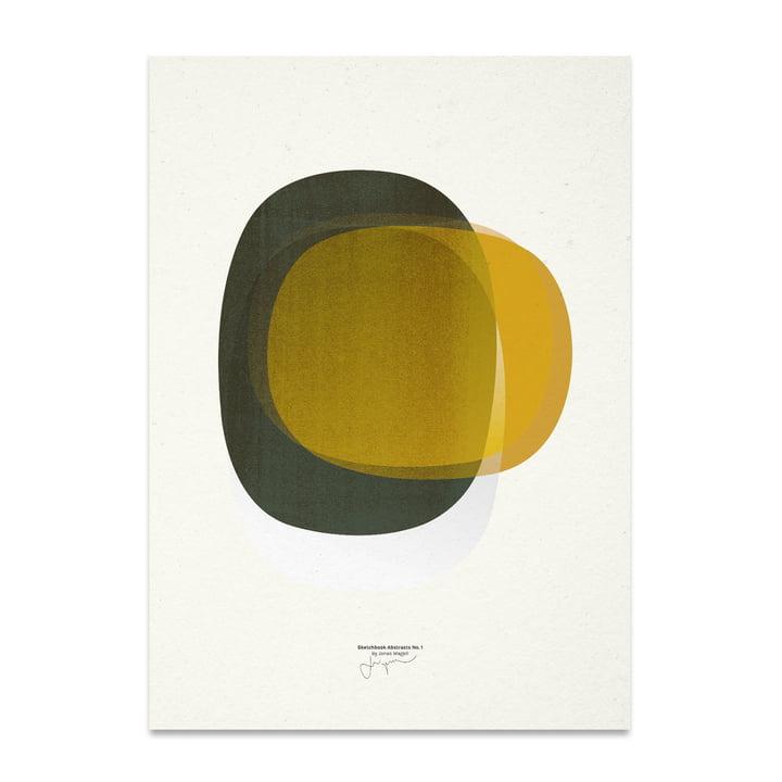 Sketchbook Abstracts 01 50 x 70 cm von Paper Collective