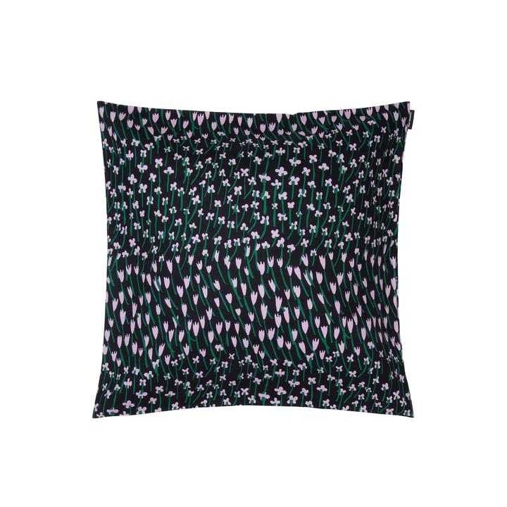 Apilainen Kissenbezug 45 x 45 cm, dunkelblau / lila / grün von Marimekko