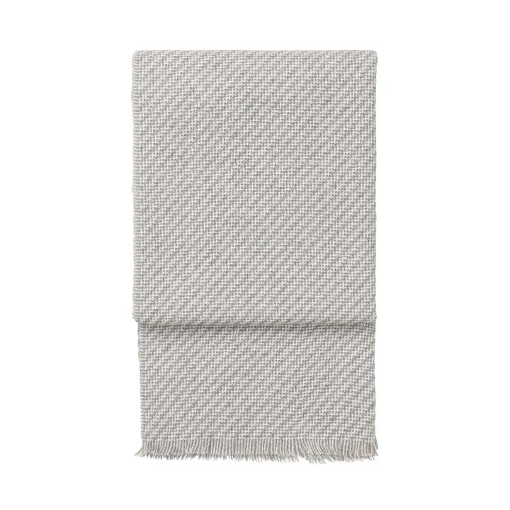 Diagonal Decke, weiß / hellgrau von Elvang