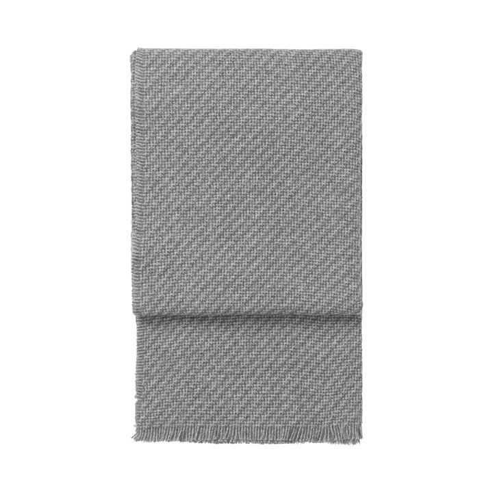 Diagonal Decke, grau / hellgrau von Elvang
