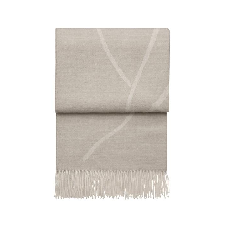 Wildflower Decke, beige / weiß von Elvang