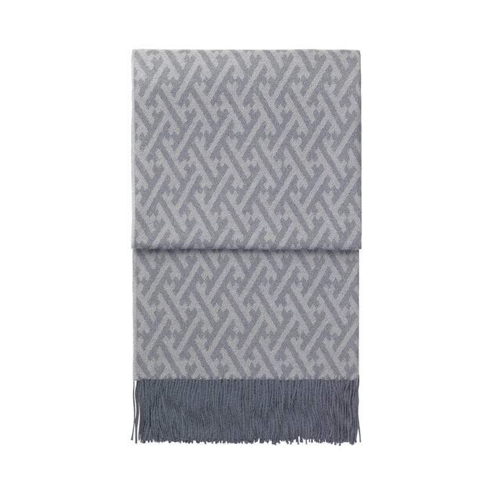 Amazing Decke, graublau / grau von Elvang