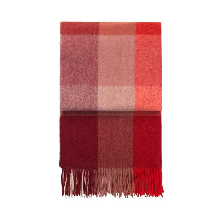 Inca Decke, rot von Elvang