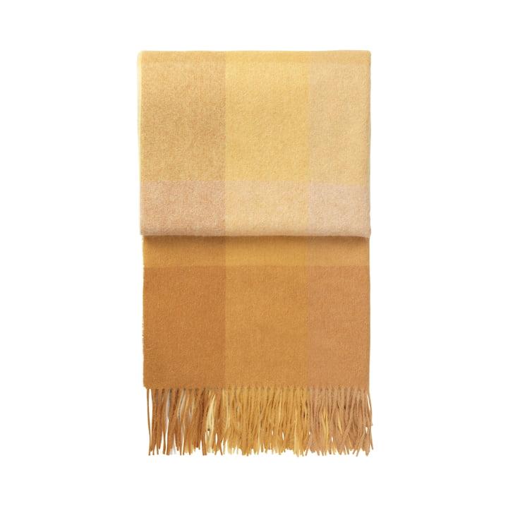 Inca Decke, gelb von Elvang