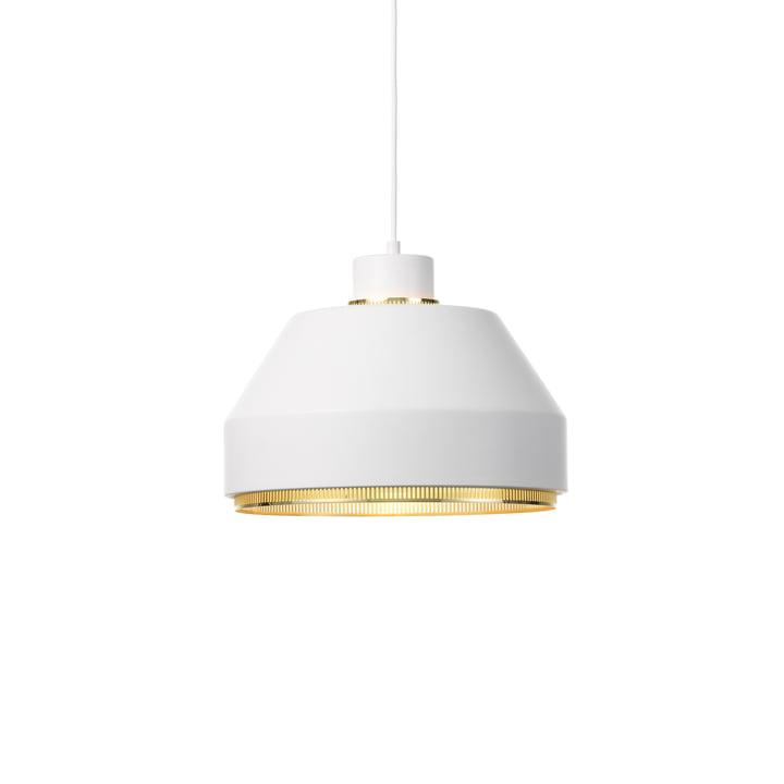 AMA500 Pendelleuchte von Artek in Messing / weiß