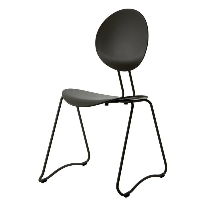Flex Chair, RAL 9011 schwarz von Verpan