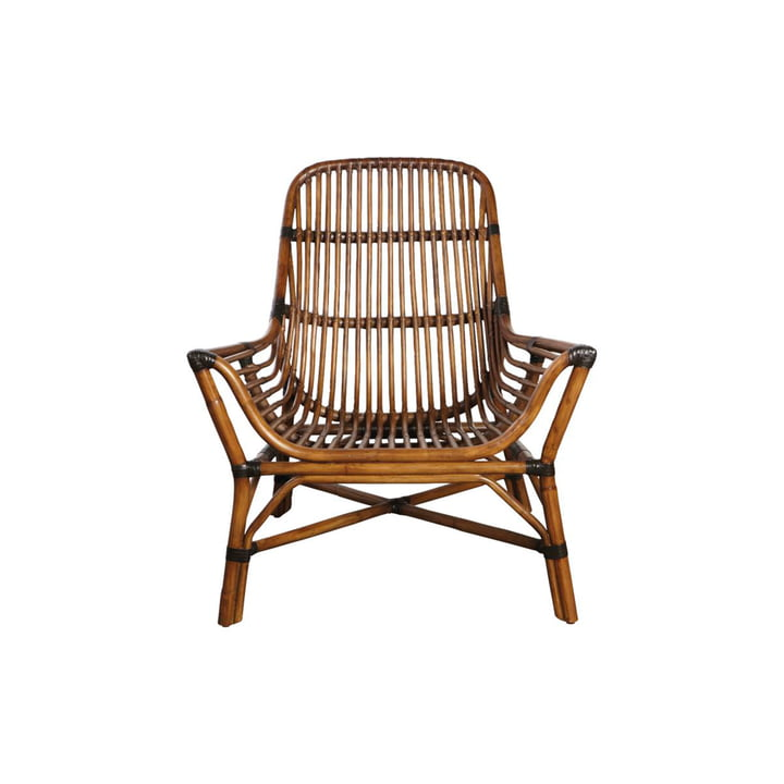 Colony Lounge Chair, braun von House Doctor