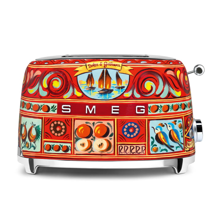 2-Scheiben Toaster TSF01 Dolce & Gabbana von Smeg