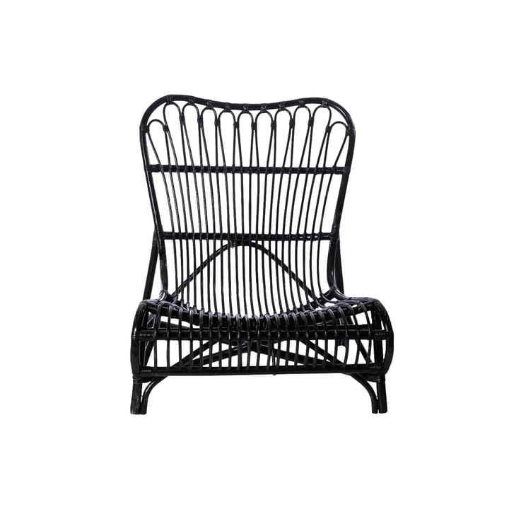 Colone Lounge Chair, schwarz von House Doctor