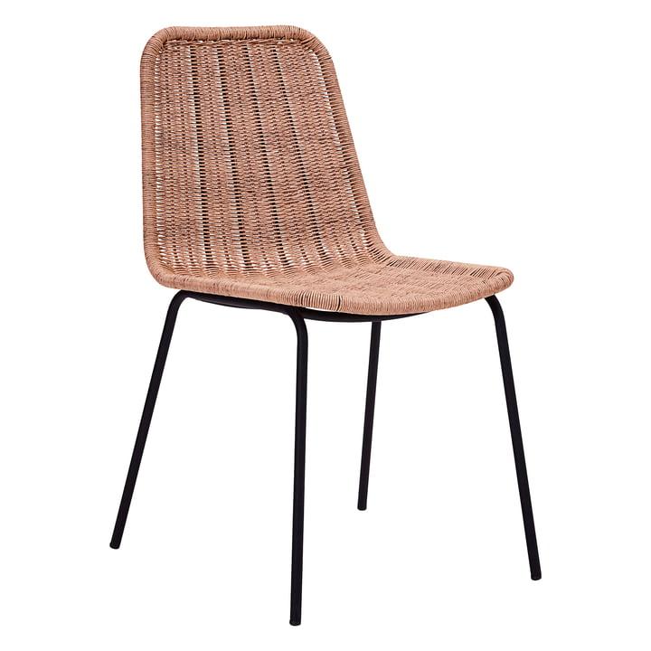 Hapur Dining Chair von House Doctor in natur / schwarz