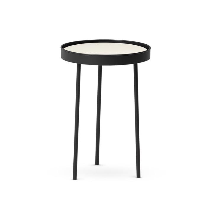 Stilk Coffee Table small, Ø 35 x H 50 cm, schwarz / weiß von Northern