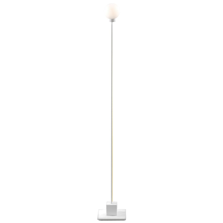 Snowball Stehleuchte H 117 cm, weiß von Northern