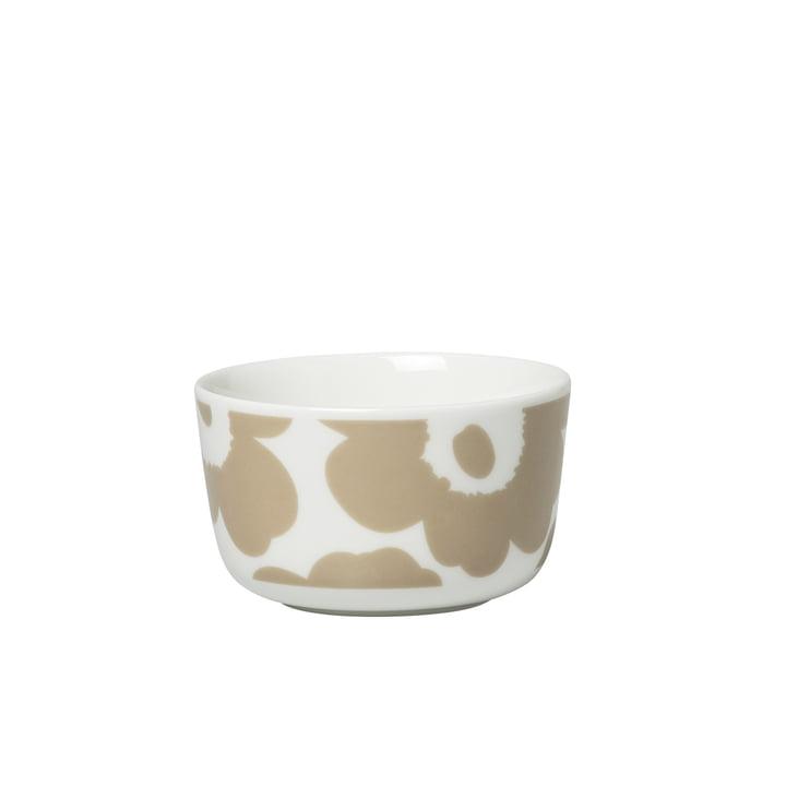 Oiva Unikko Schale 250 ml, weiß / beige von Marimekko
