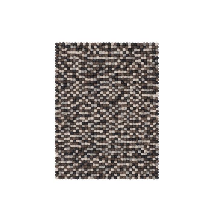 Néla Filzkugelteppich 70 × 100 cm von myfelt