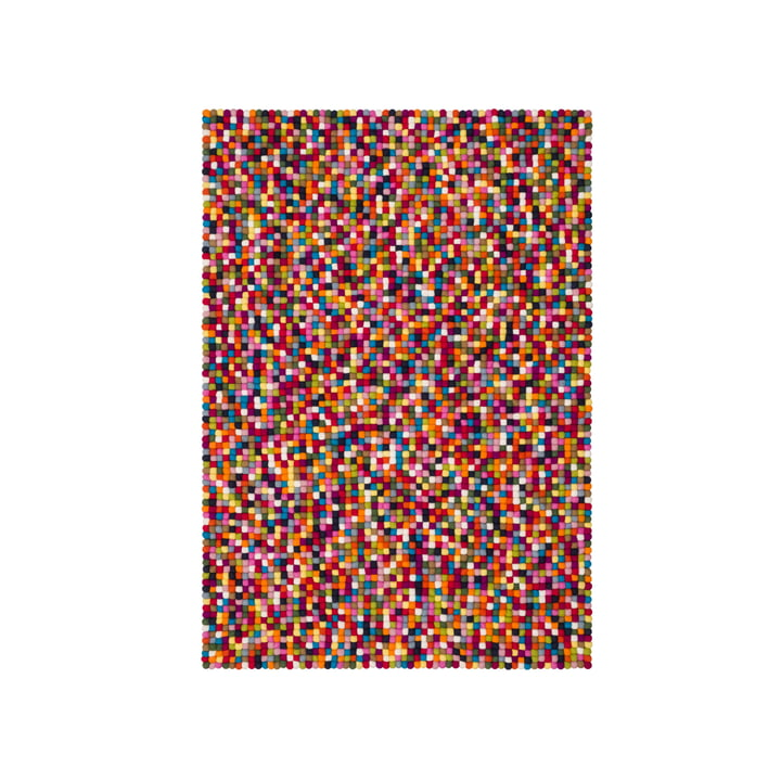 Lotte Filzkugelteppich 90 x 130 cm von myfelt