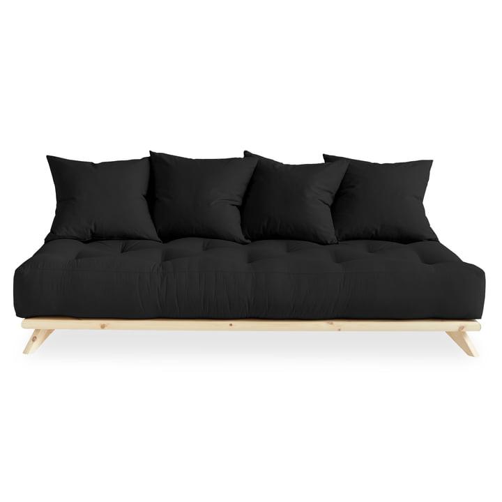 Senza Sofa von Karup Design in Kiefer natur / dunkelgrau