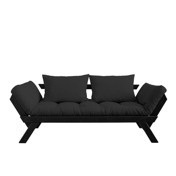 Bebop Sofa von Karup Design in Kiefer schwarz / dunkelgrau