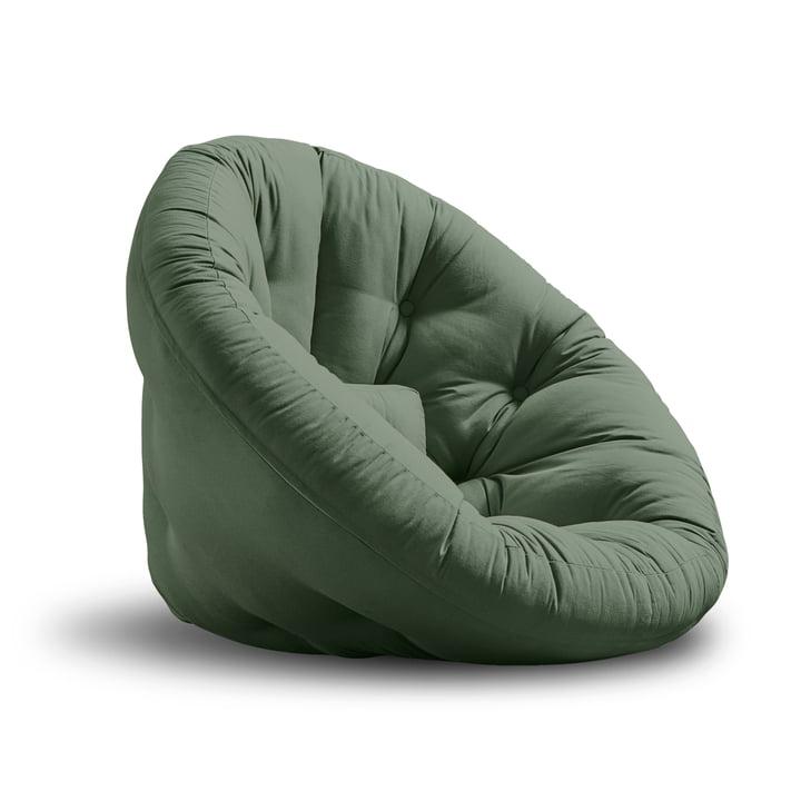 Nido Klappsessel von Karup Design in olivgrün
