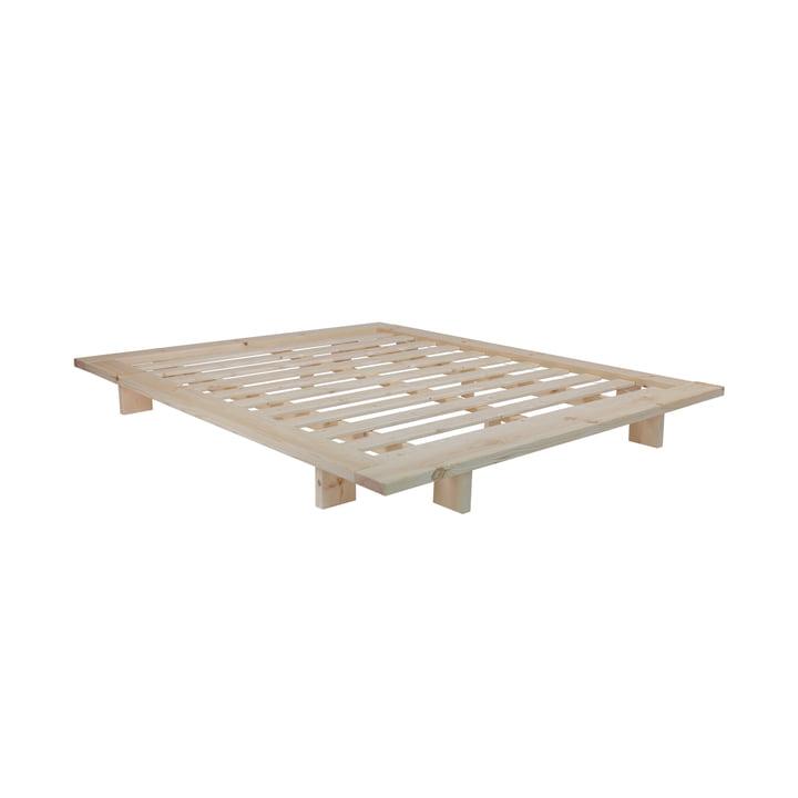 Japan Bett 140 x 200 cm von Karup Design in Kiefer natur