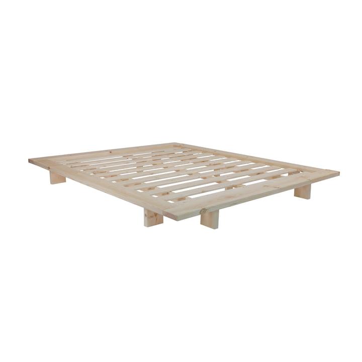 Japan Bett 160 x 200 cm von Karup Design in Kiefer natur