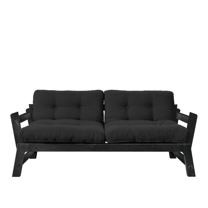 Step Sofa von Karup Design in Kiefer schwarz / dunkelgrau