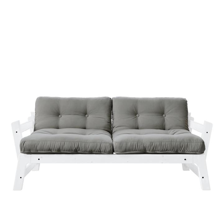 Step Sofa von Karup Design in Kiefer weiß / grau