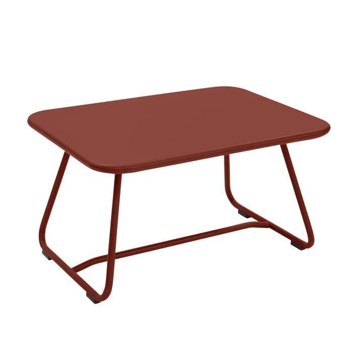 Sixties Niedriger Tisch, ockerrot von Fermob