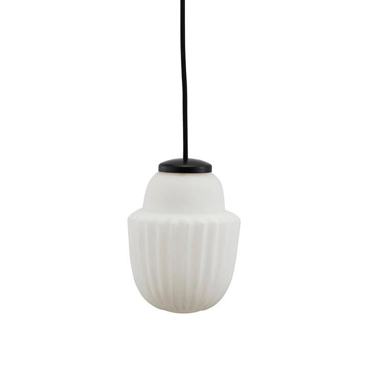 Acorn Pendelleuchte Ø 13,5 x H 18,7 cm von House Doctor in weiß