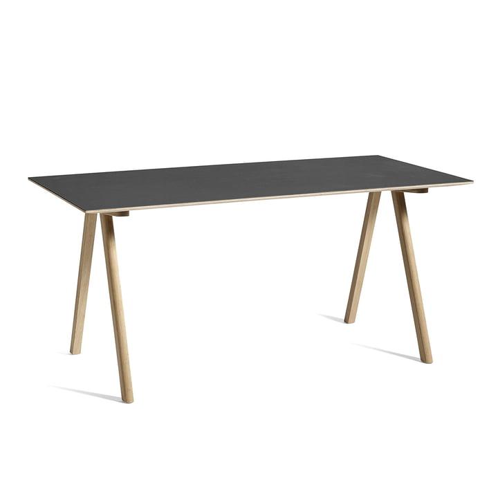 Copenhague CPH10 Tisch, 160 x 80 cm, Eiche / schwarz von Hay