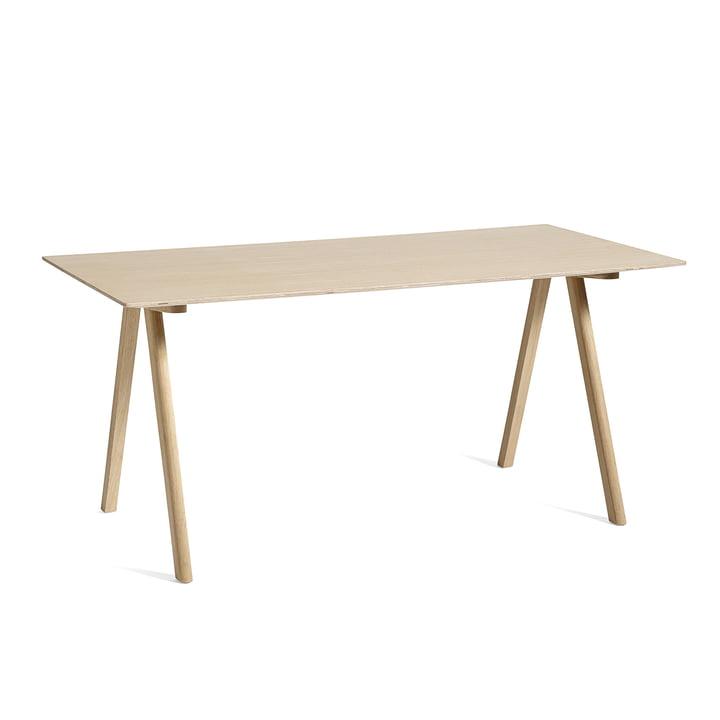 Copenhague CPH10 Tisch, 160 x 80 cm, Eiche matt lackiert von Hay