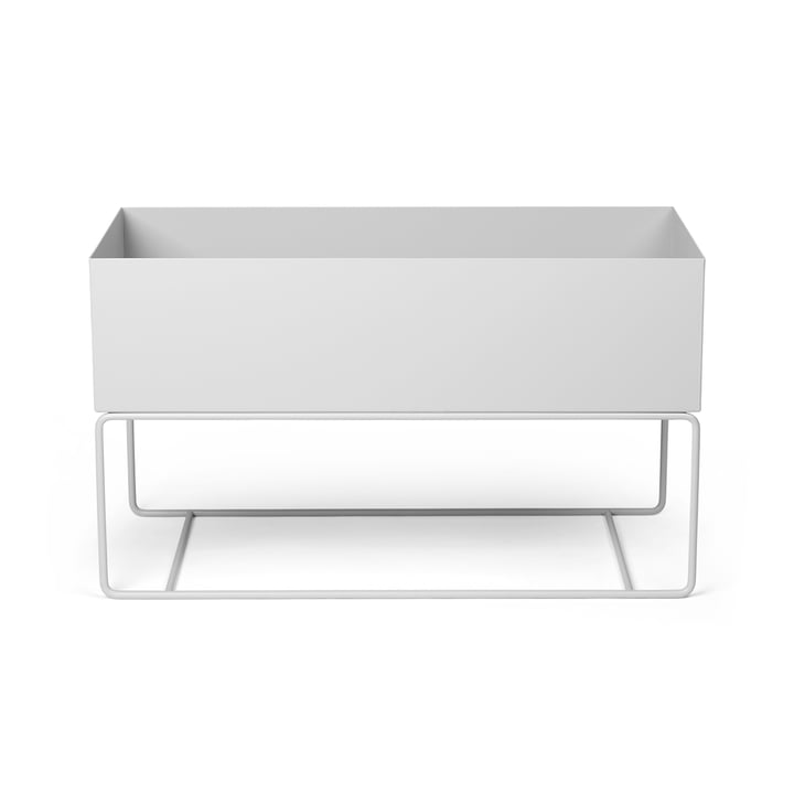 Plant Box large, hellgrau von ferm Living