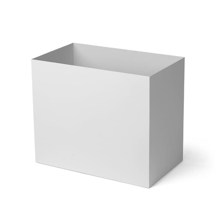 Behälter für Plant Box large, hellgrau von ferm Living