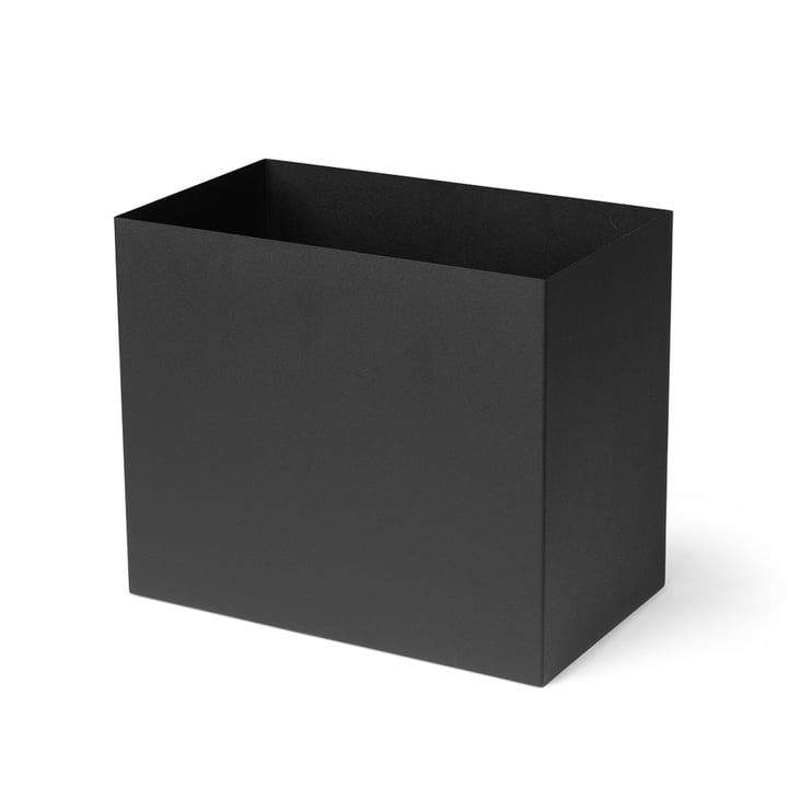 Behälter für Plant Box large, schwarz von ferm Living
