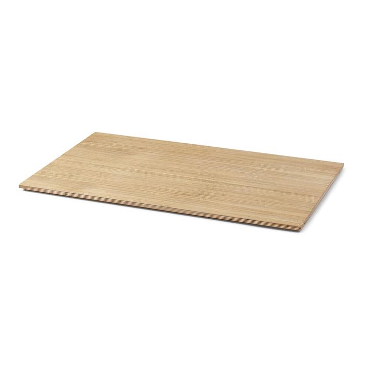 Tablett für Plant Box large, Eiche geölt von ferm Living