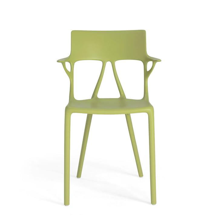AI Stuhl von Kartell in grün