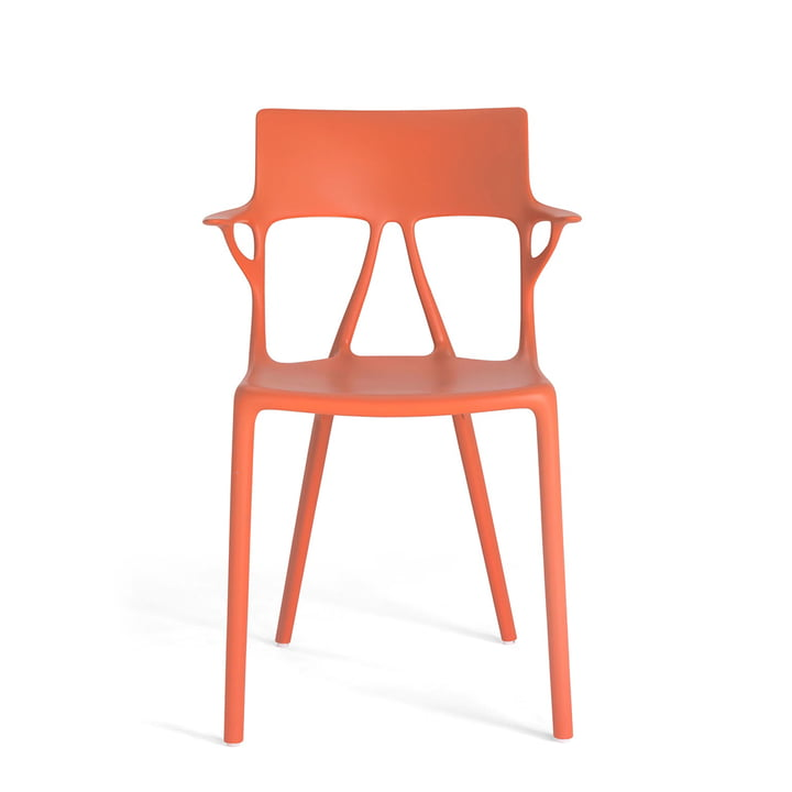 AI Stuhl von Kartell in orange