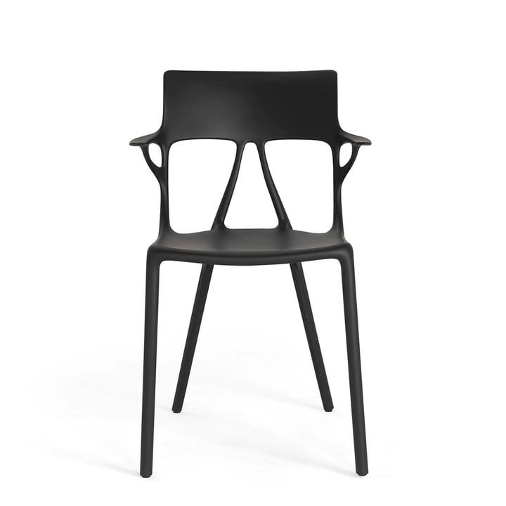 AI Stuhl von Kartell in schwarz