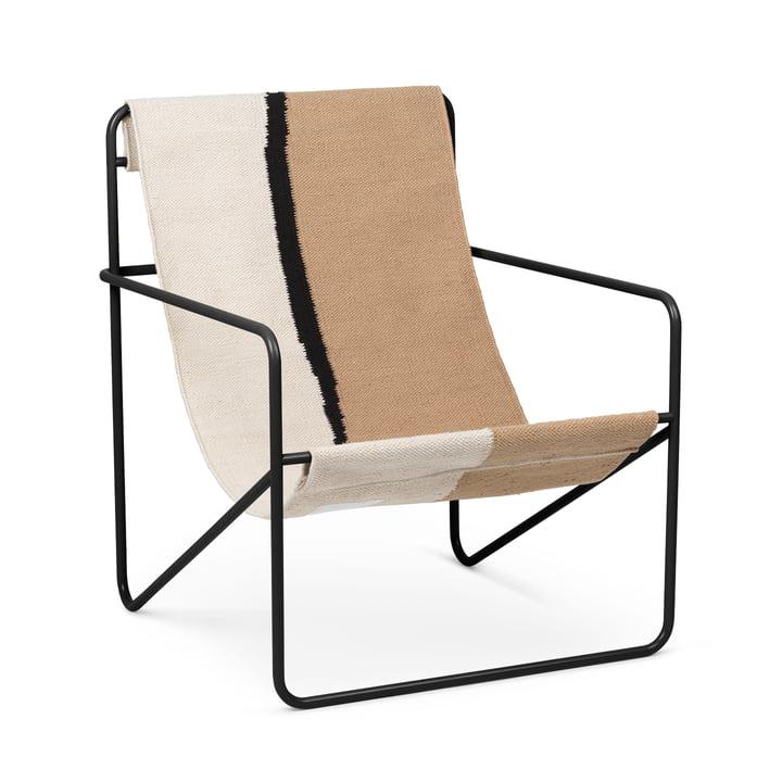 Desert Chair, schwarz / soil von ferm Living