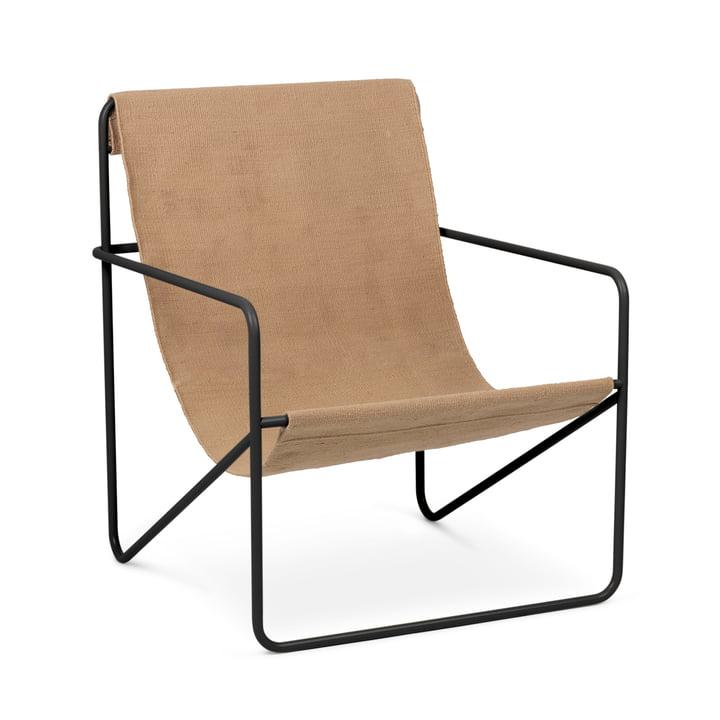 Desert Chair, schwarz / solid von ferm Living