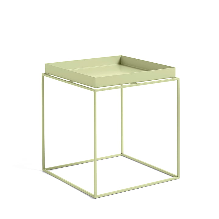 Tray Table 40 x 40 cm, soft yellow von Hay