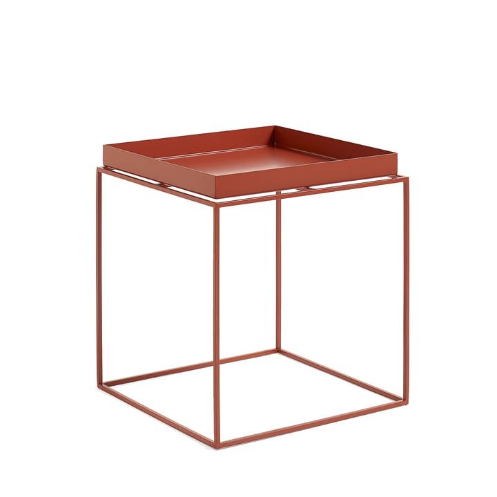 Tray Table 40 x 40 cm, rot von Hay