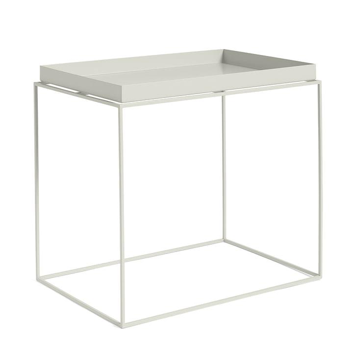 Tray Table 60 x 40 cm, warm grey von Hay