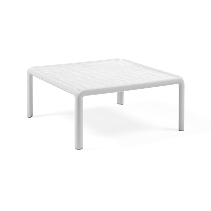 Komodo Gartentisch 70 x 70 cm, weiß von Nardi