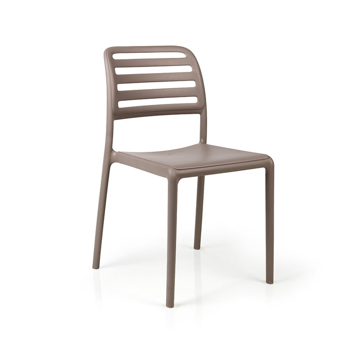 Costa Bistrot Stuhl, tortora von Nardi