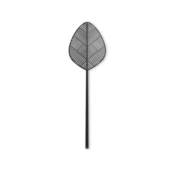 Leaflike Metallblatt Alva H 50,6 cm von Lucie Kaas in schwarz