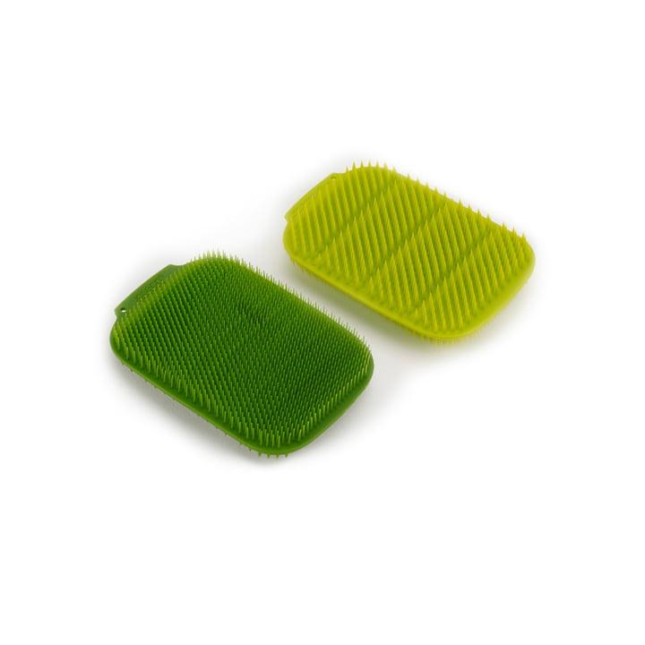 CleanTech Spülschwamm, grün / dunkelgrün (2er-Set) von Joseph Joseph