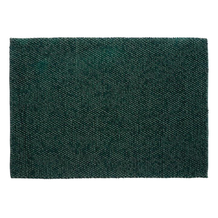 Peas Teppich 240 x 170 cm von Hay in dunkelgrün