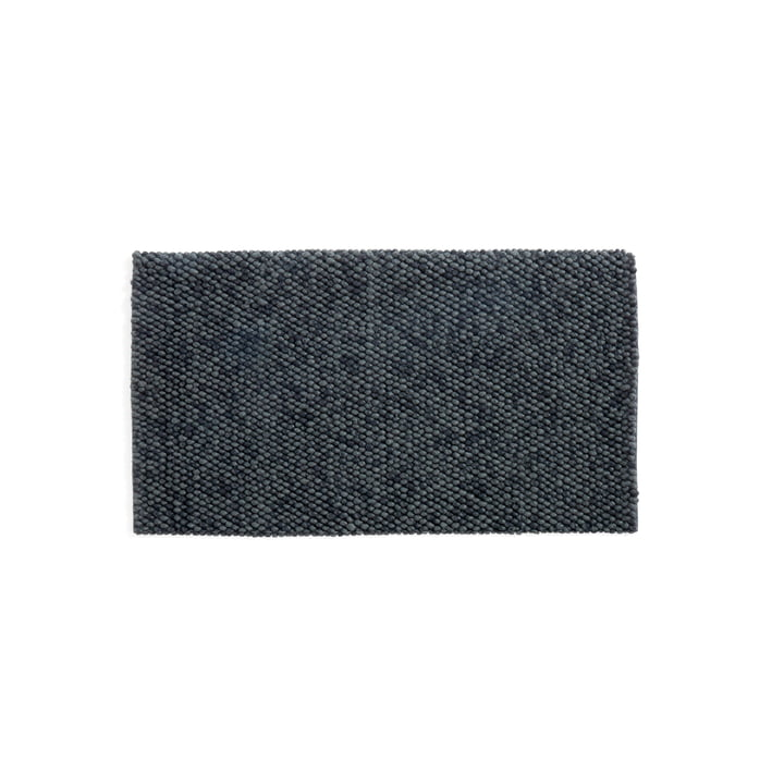 Peas Teppich 80 x 140 cm von Hay in dark grey